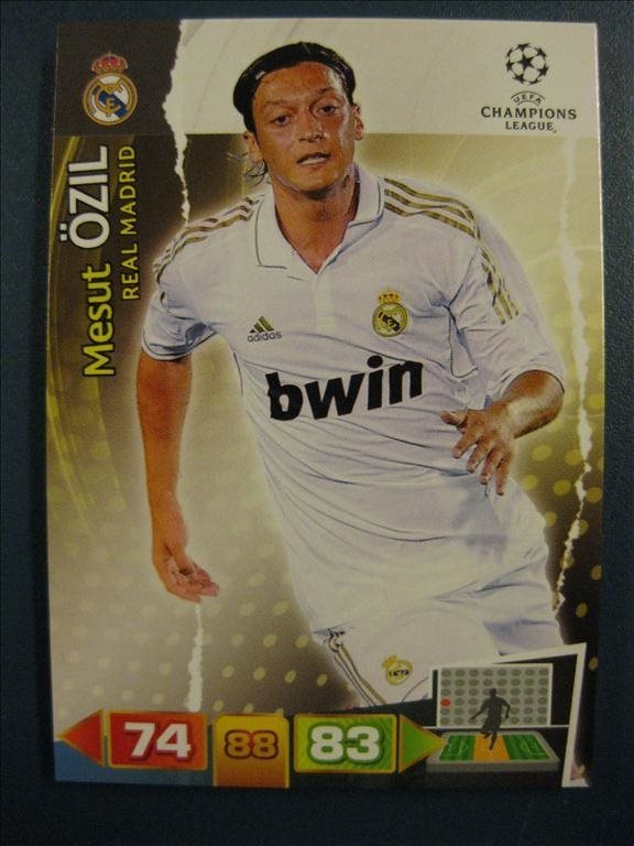 MESUT ÖZIL -  REAL MADRID - UEFA CHAMPIONS LEAGUE 2011-2012