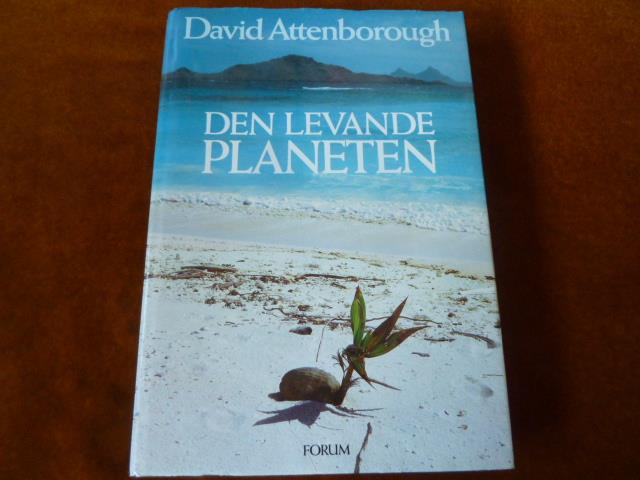 DEN LEVANDE PLANETEN, D. ATTENBOROUGH, 1984,  BÖCKER