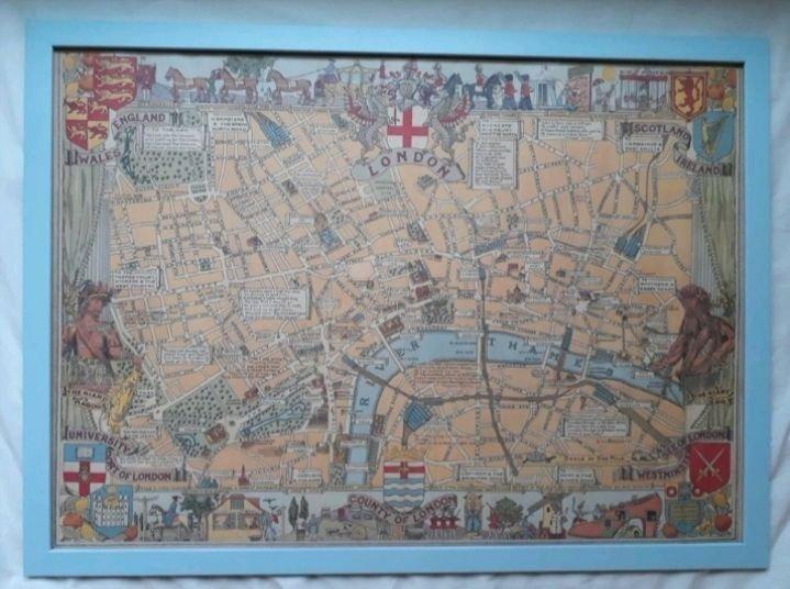 Karta Over Centrala London Karta 2020