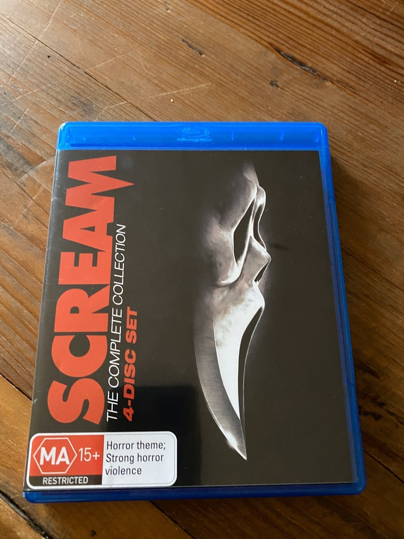 Scream 1-4 Bluray Box