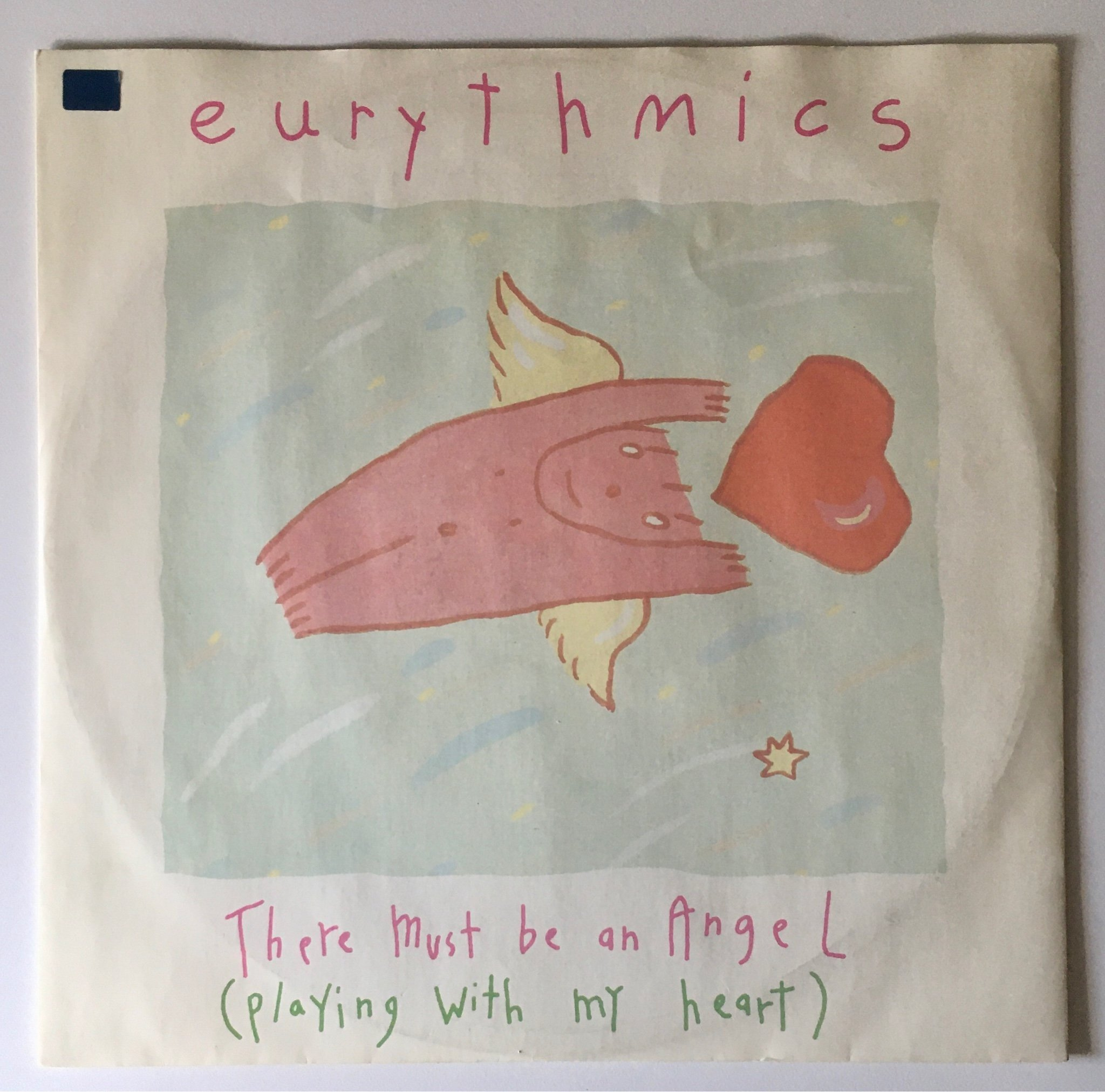 "EURYTHMICS - THERE MUST BE AN ANGEL 12"" maxi Dj synth pop 80,s"