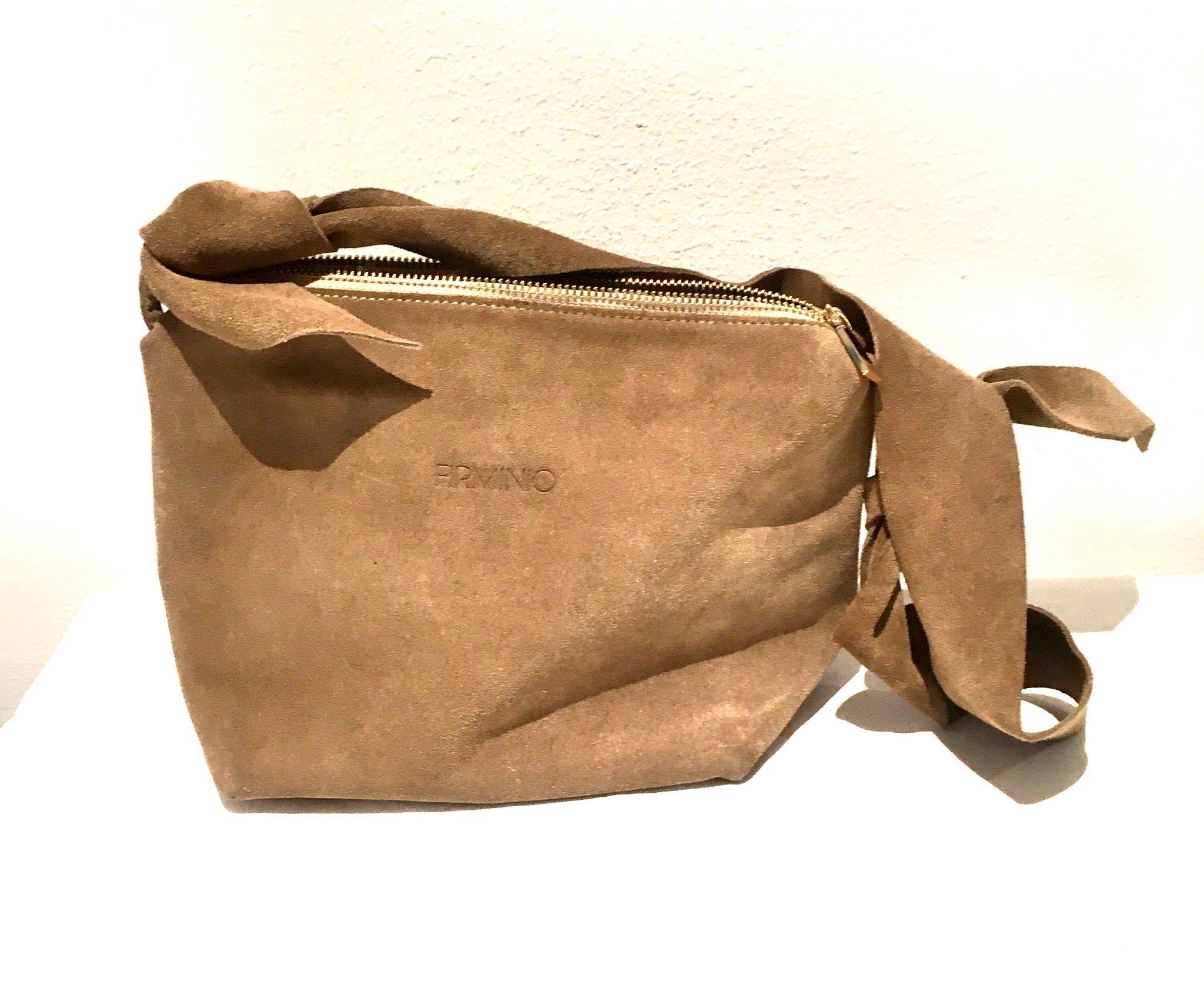 italiensk mocka väska