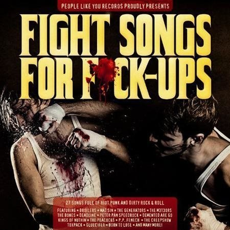 Various ? Fight Songs For Fuck-Ups - CD