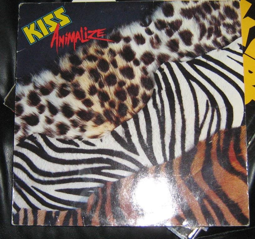 "Kiss LP ""animalize"""