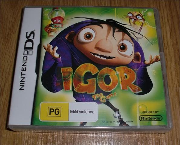 DS: Igor the Game (ny)