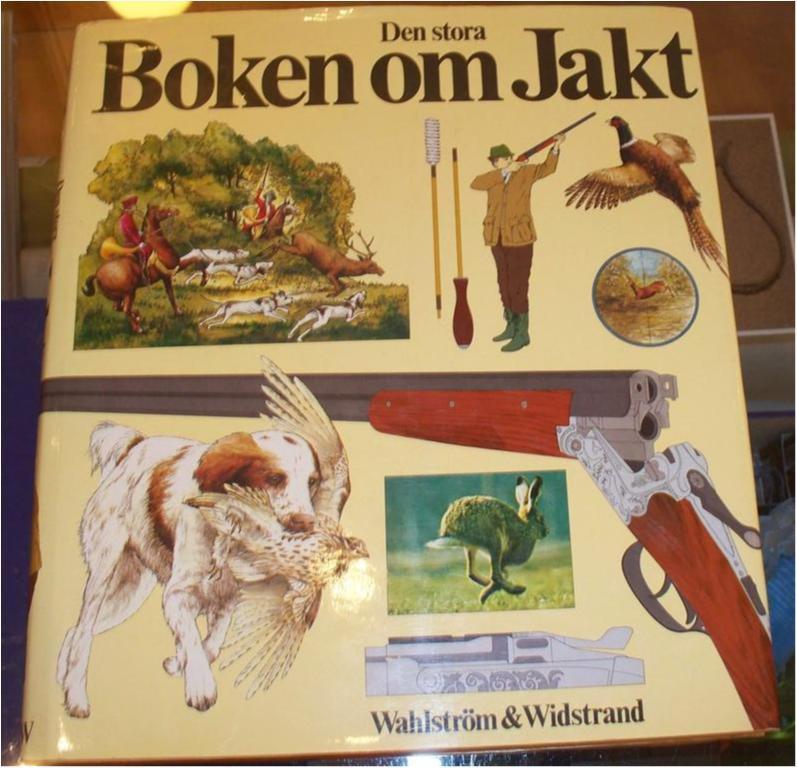 Boken om jakt, Inbunden bok i stort format