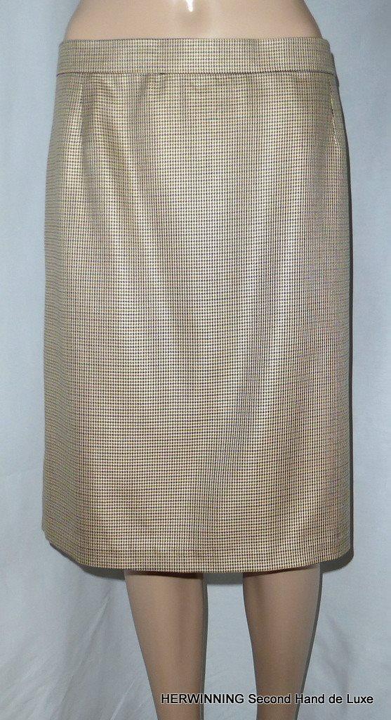 Nanso rak kjol med slits stl XL