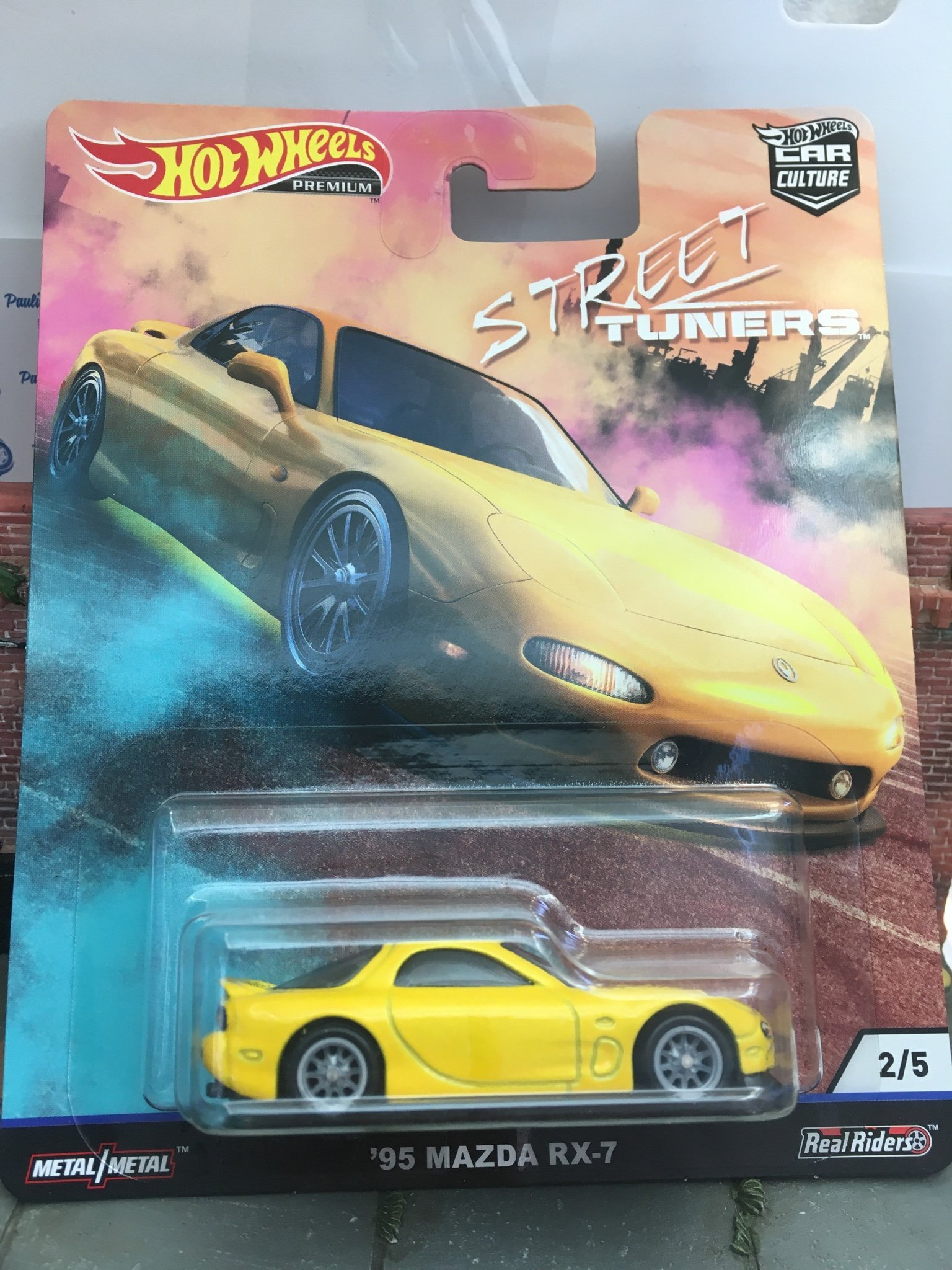 Mazda RX-7 Car Culture 1/64 Hot Wheels