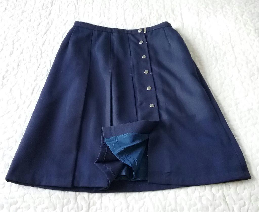 kjol kort fram lång bak zara