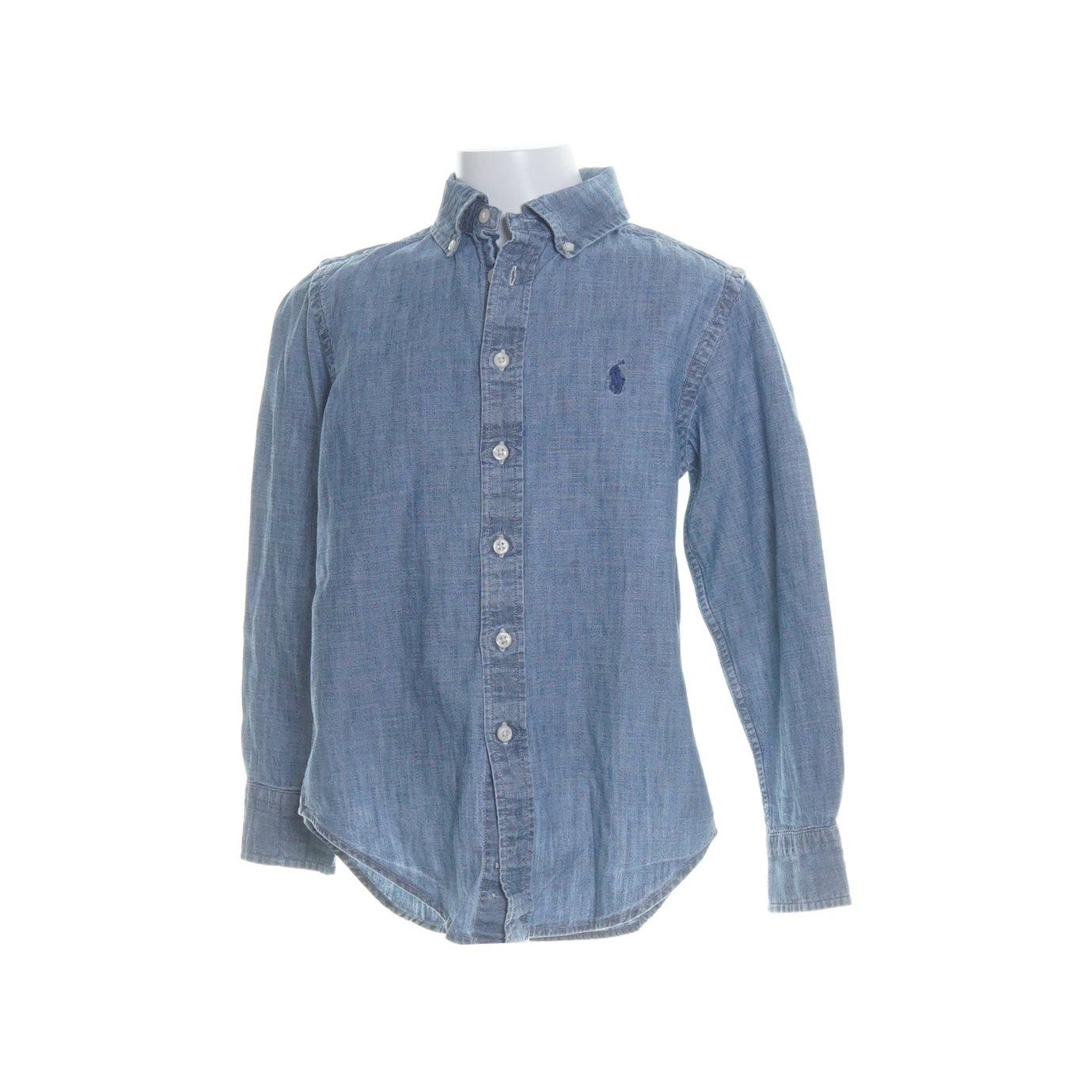 polo ralph lauren jeansskjorta
