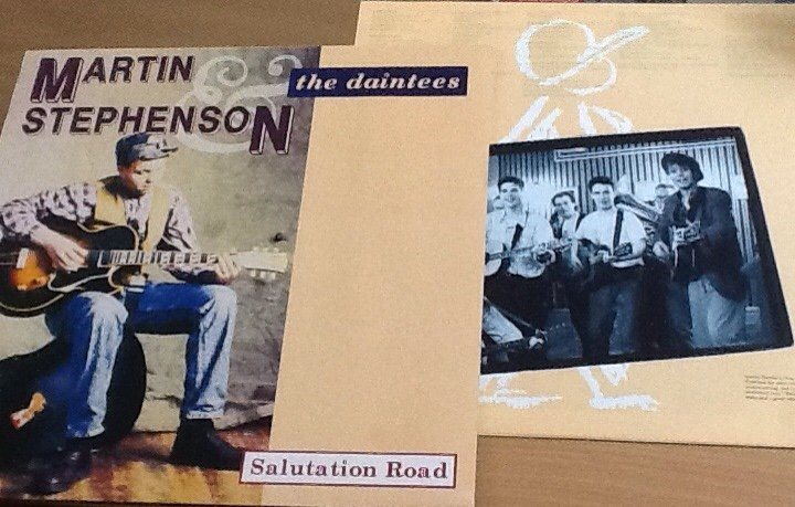 LP MARTIN STEPHENSON & THE DAINTEES / Roots-pop (Pete Anderson)