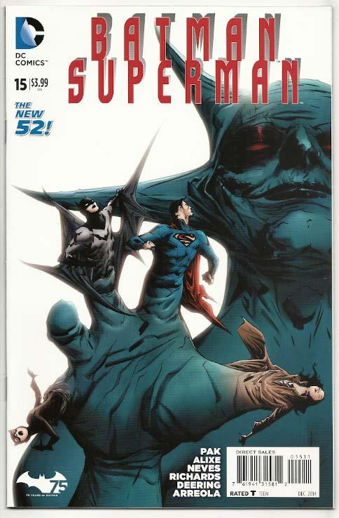 Batman/Superman # 15 NM Ny Import