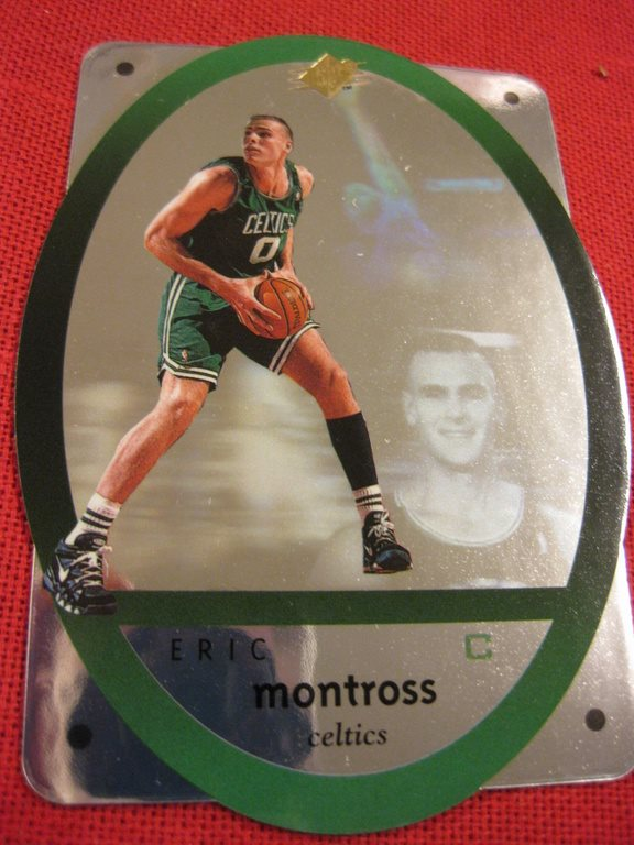 ERIC MONTROSS - UD SPX 1996 - BOSTON CELTICS - BASKET