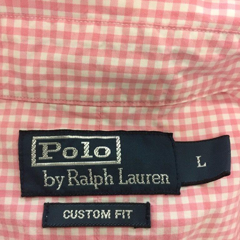 Polo Polo Polo Ralph Lauren, Skjorta, Strl: L, Custom fit, Rosa 95e8e5