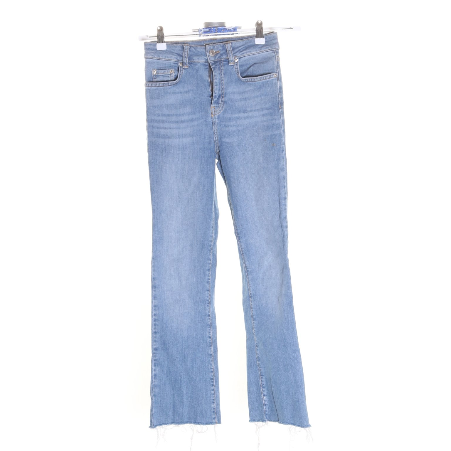 Perfect Jeans Gina Tricot, Jeans, Strl: 34, Blå, Bomull/Elastan