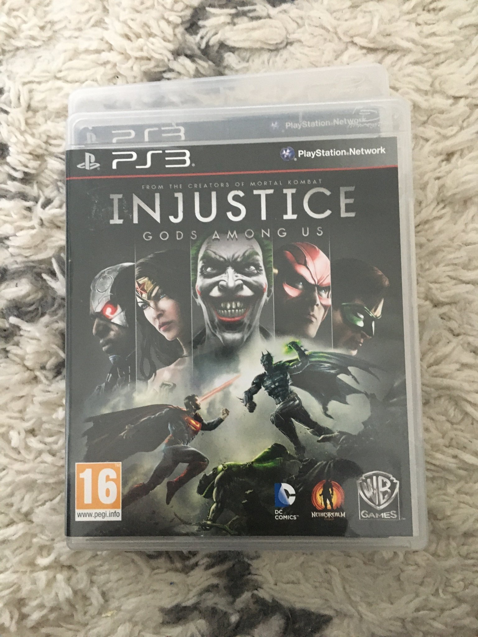 Ps3 spel Injustice gods among us