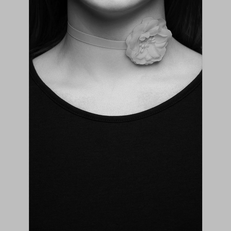 choker halsband glitter