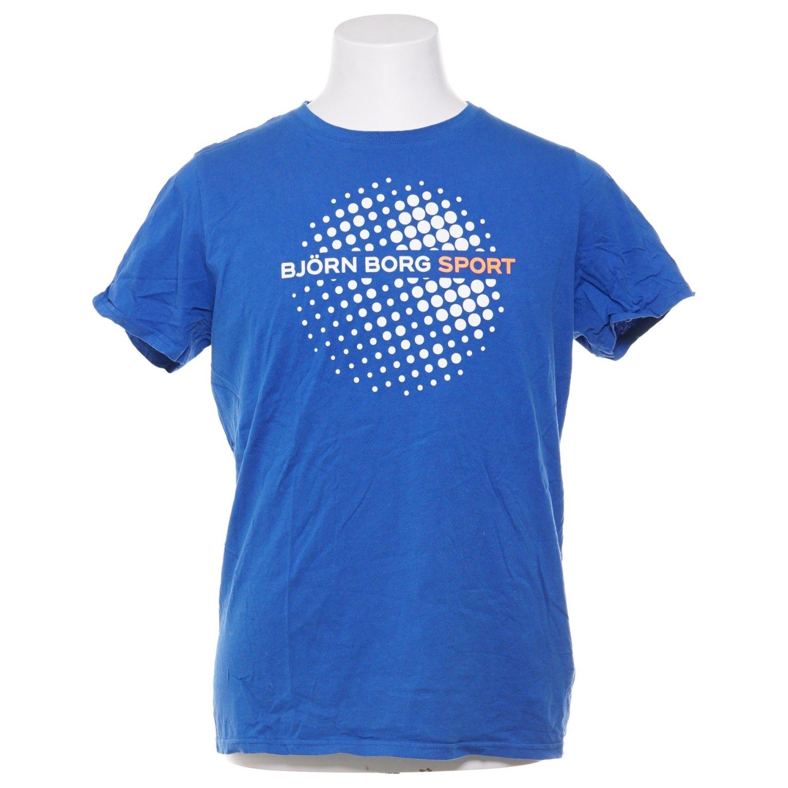 aa07b281e8d Björn Borg, T-shirt, Strl: L, Blå (347204698) ᐈ Sellpy på Tradera