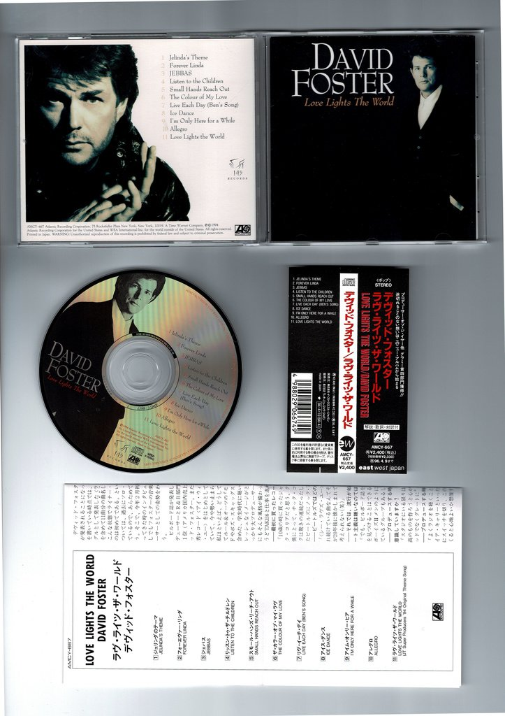 David Foster Love Lights The World Magisk 1994 372910129 ᐈ Kop Pa Tradera