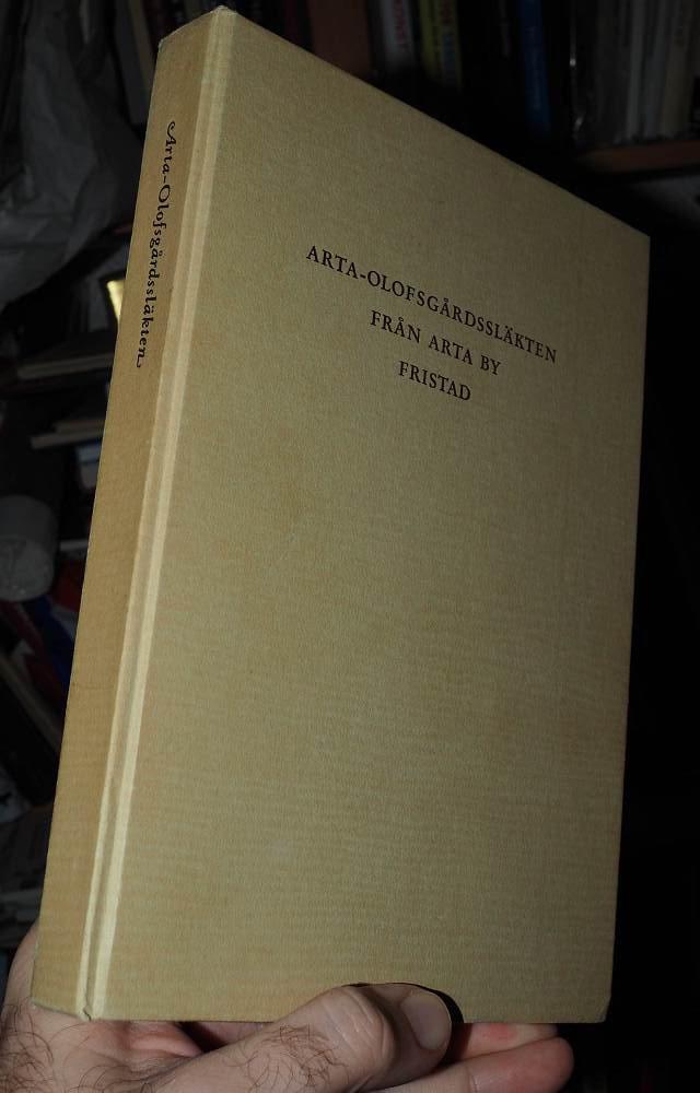 Arta Olofsgårdssläkten fr Arta by by by Fristad 1953 Borås 4093b9