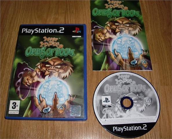 PS2: Myth Makers Orbs of Doom