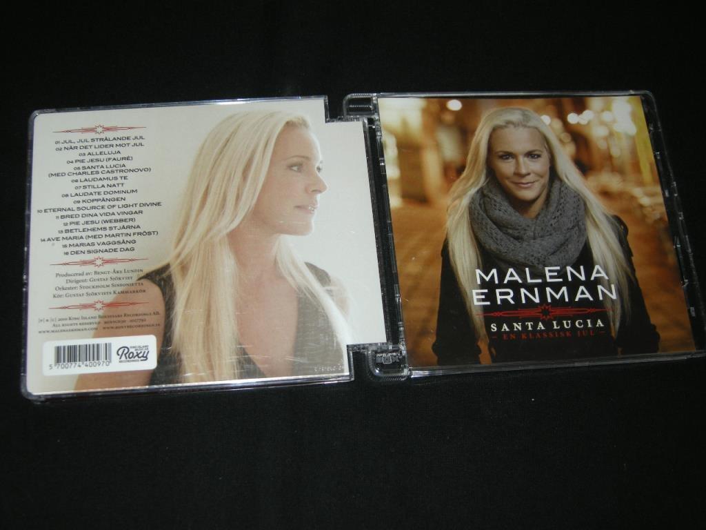 malena ernman i decembertid cd