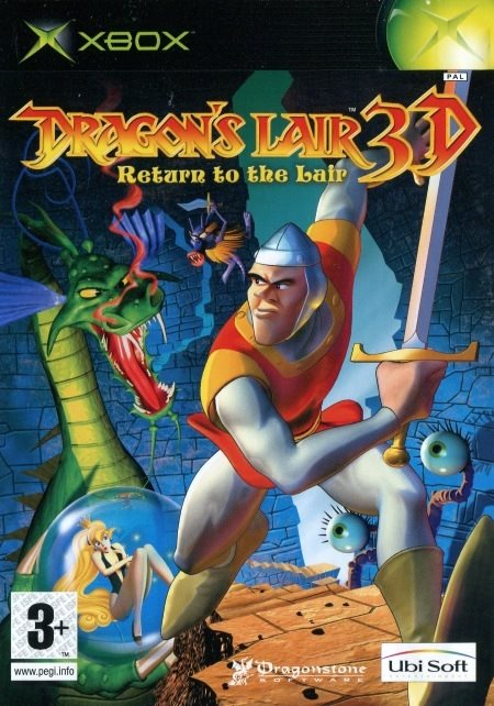 XBOX - Dragon's Lair 3D: Return to the Lair (Ej bok) (Beg)