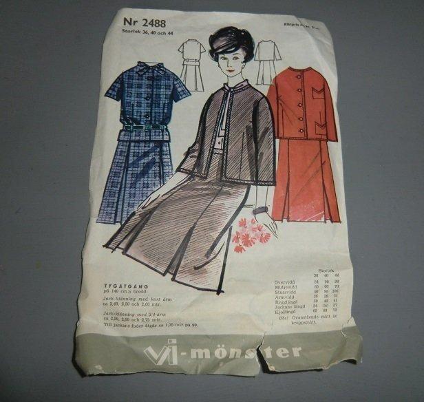 567558bffd0e äldre symönster vi 2488 jack-klänning st. 36-40.. (349485958) ᐈ Köp ...