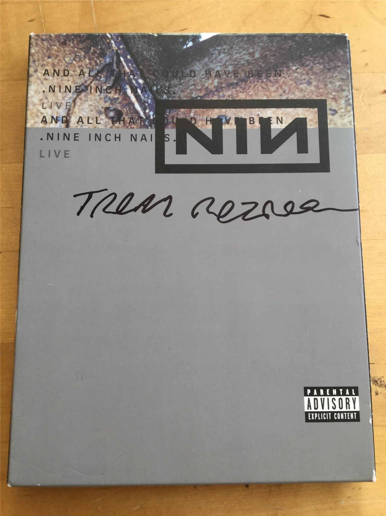 Autograf - Trent Reznor - Nine Inch Nails - And.. (312659500) ᐈ Köp ...