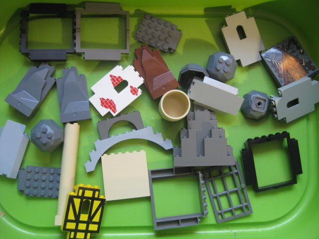 LEGO Delar Tillbehör Borg & Fort delar mm AJL 205