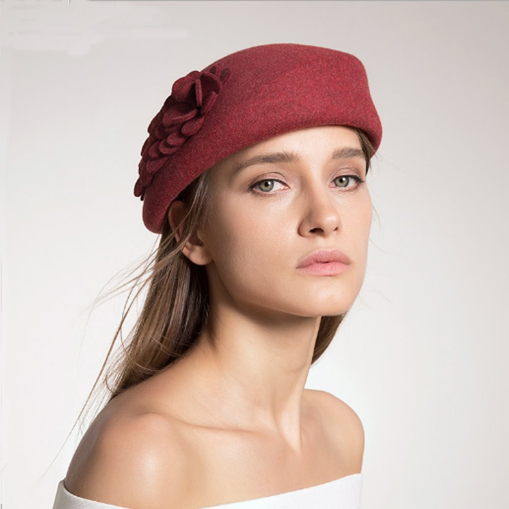 100% wool Fashion retro hatt varm ull k.. (330220189) ᐈ My-Style på ... 22f581dcb22c0