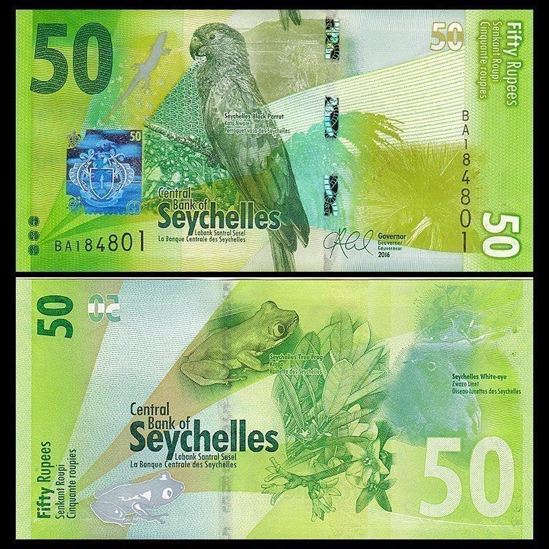 SEYCHELLES 100 RUPEES 2013 P NEW AUNC