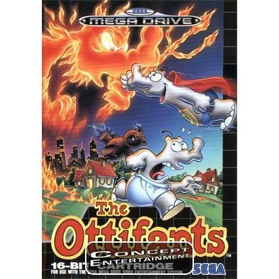 OTTIFANTS THE / CLASSIC (komplett) till Sega Mega Drive