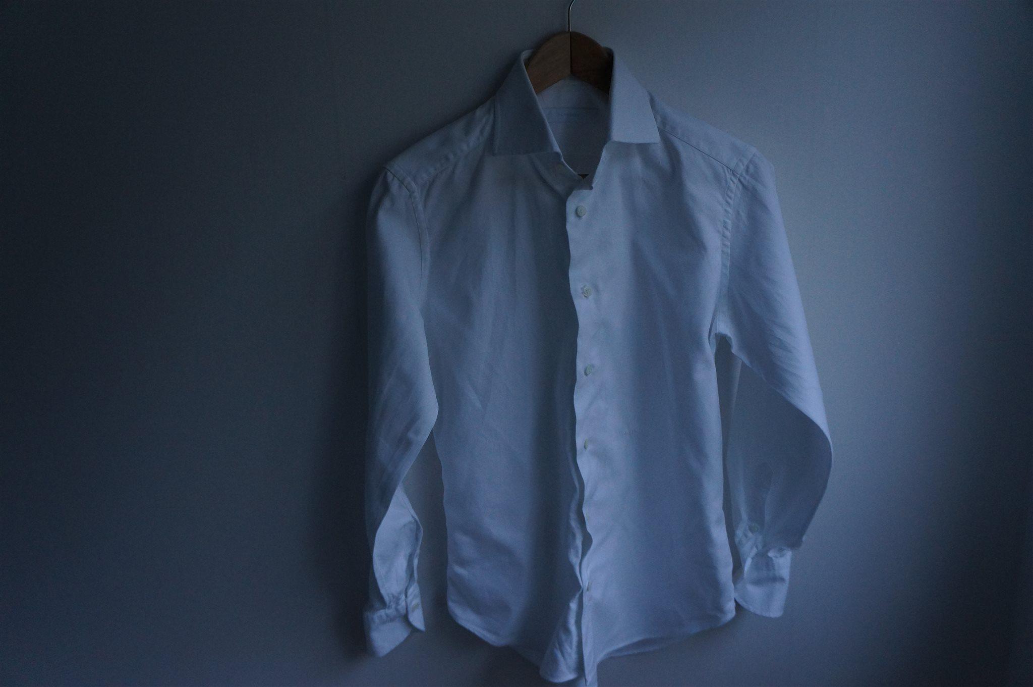 Vit skjorta från J.Lindeberg i storlek 38 (336038904) ᐈ Köp på Tradera 42aa9587c9b97