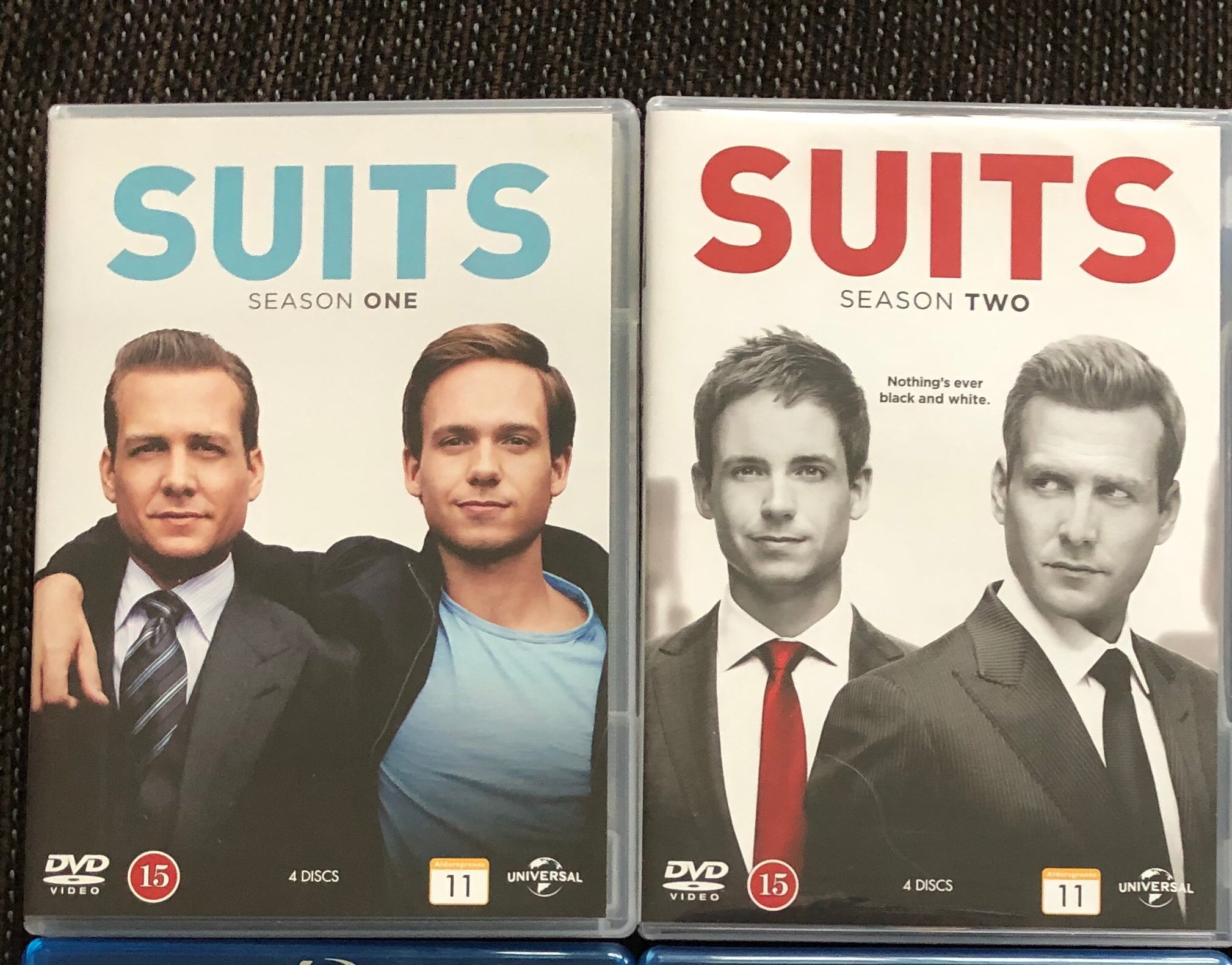 Suits säsong 1 + 2 DVD