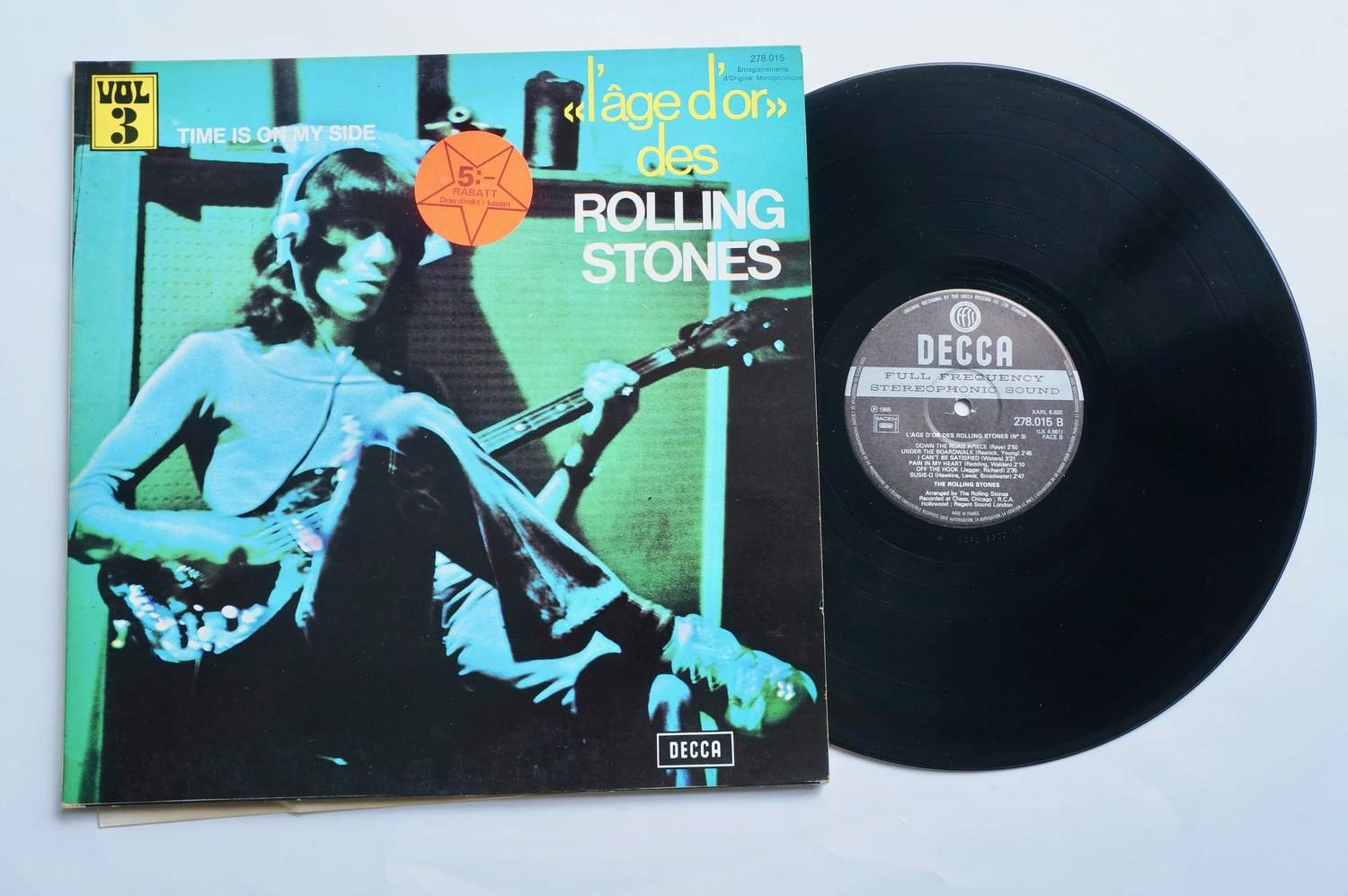 ** The Rolling Stones L'âge D'or» Des Rolling Stones  - Time is on my side **