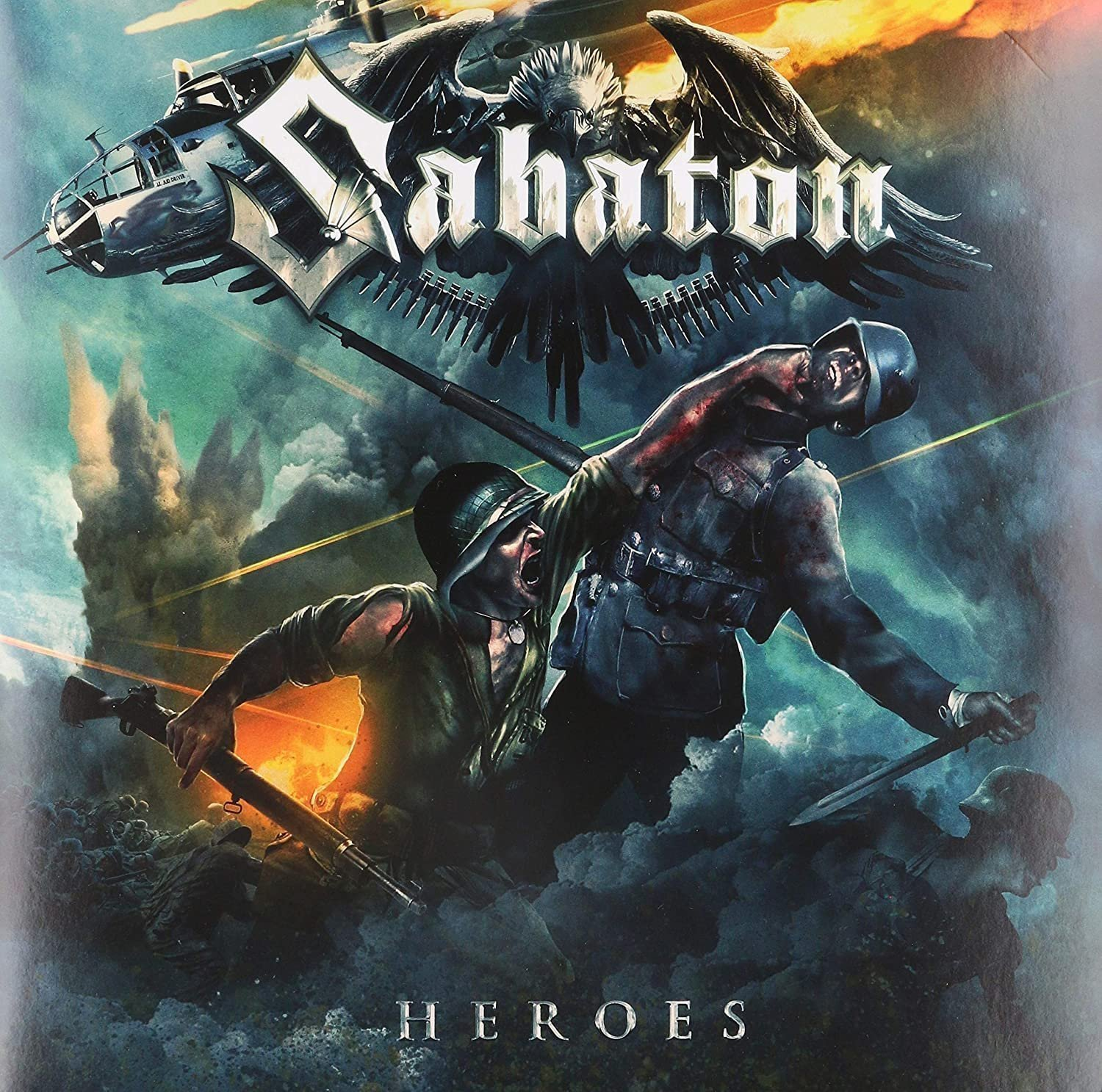 SABATON - HEROES VINYL ( NEW/SEALED)