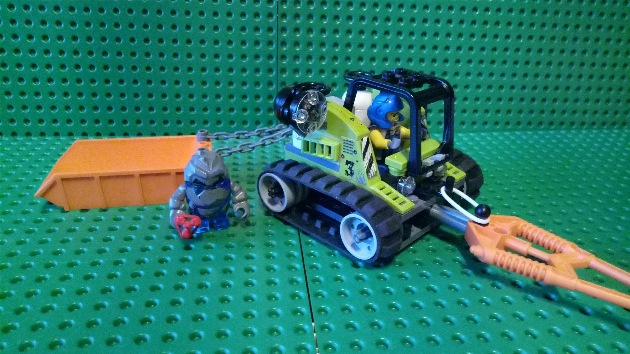 Lego Power Miners - Granite Grinder 8958