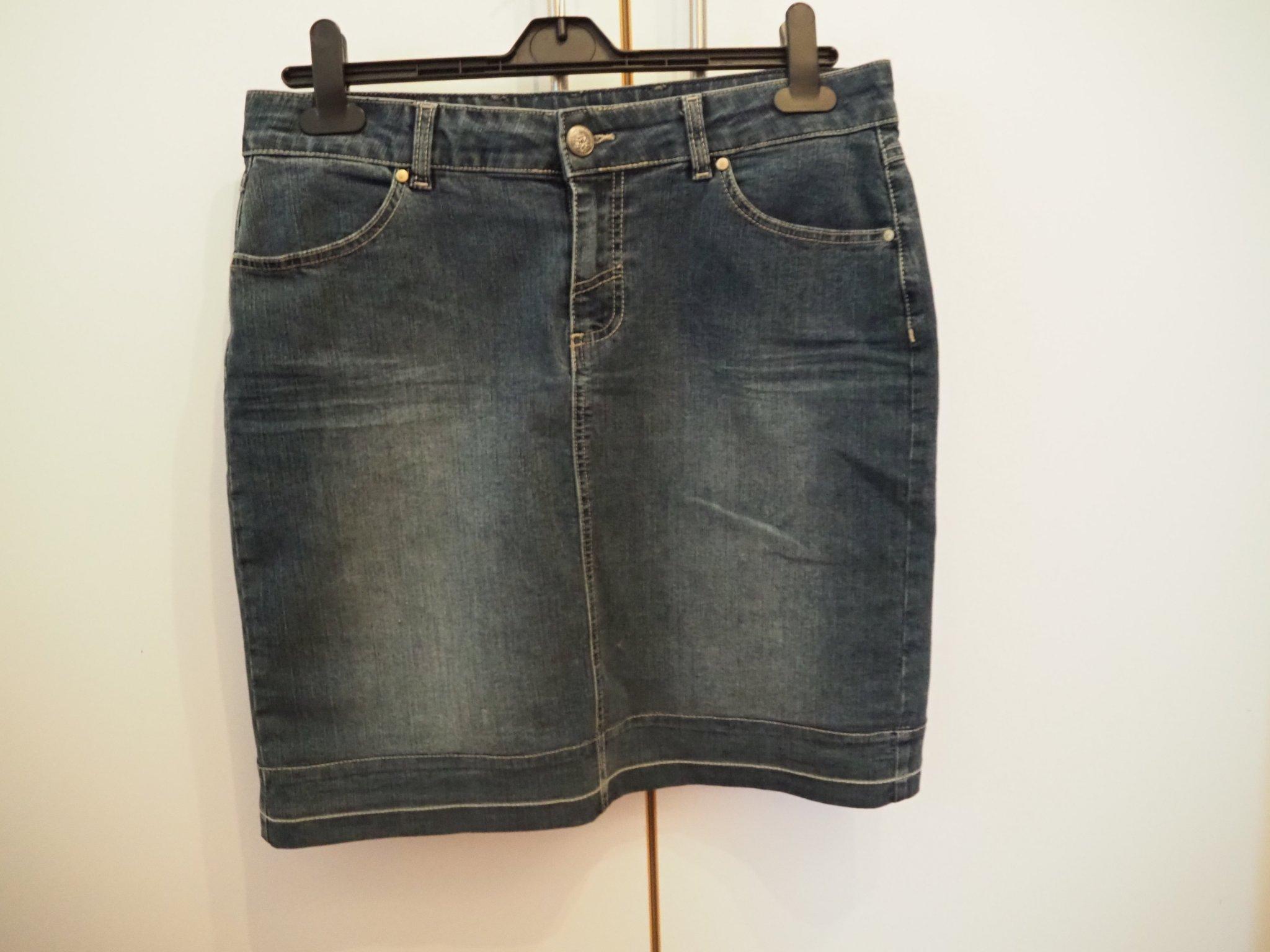 0e76cc36e429 Jeanskjol från Josephine & CO i storlek 38 (354264126) ᐈ Köp på Tradera