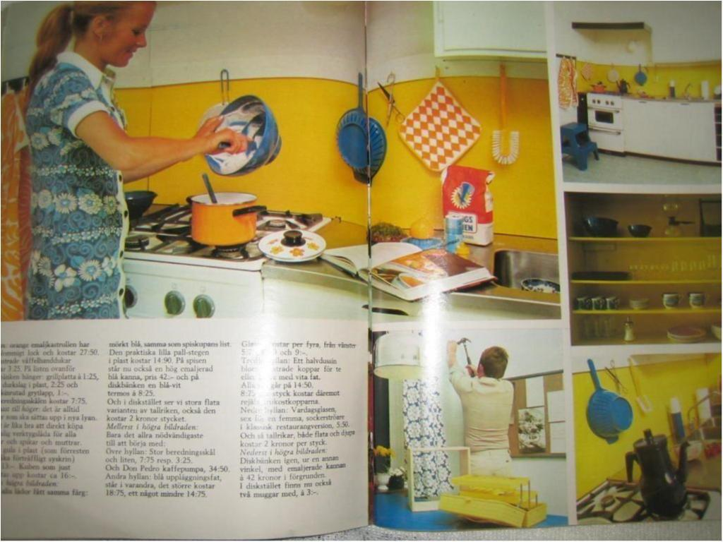 Hennes1972.lillbabs. 70tals kök.retro på tradera.com   tidskrift ...