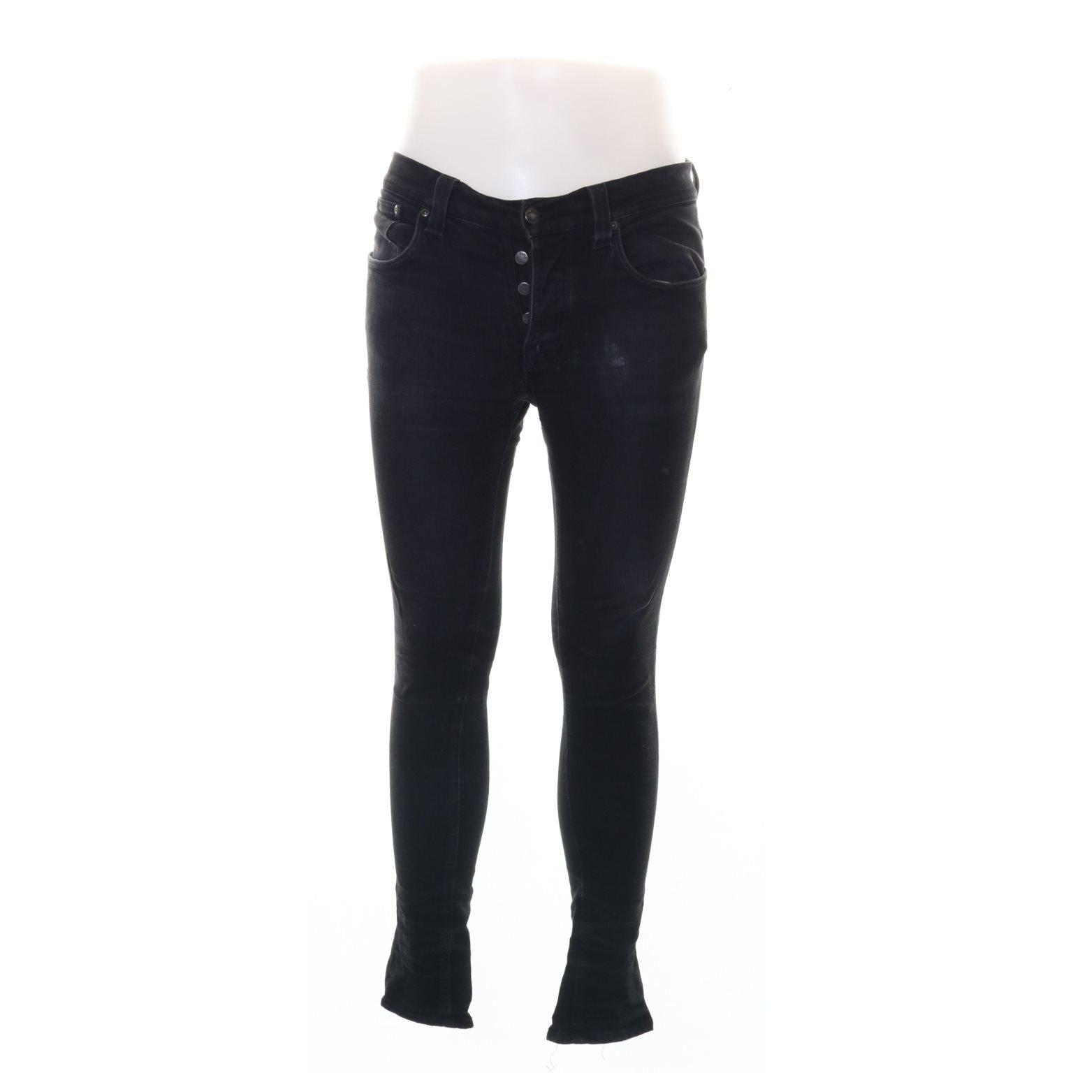 Nudie Jeans co, Jeans, Strl: 33/32, Grå