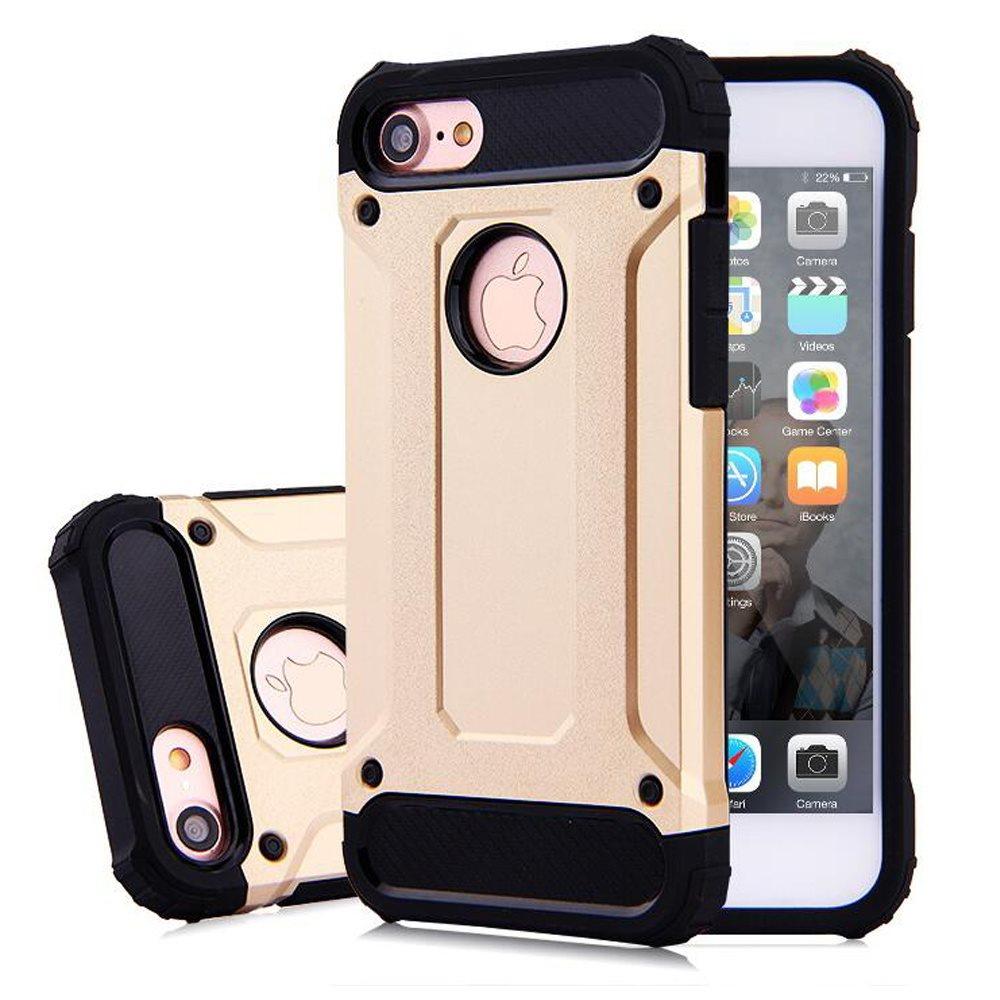 iPhone 8 Pansar Skal Guld Svart (290728464) ᐈ jfwtrade1 på Tradera 83f9bf1ce4290