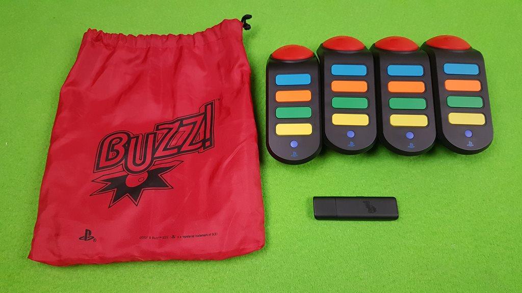 4 Tr-dl-sa Buzz Kontroller Ps3 Playstation 3