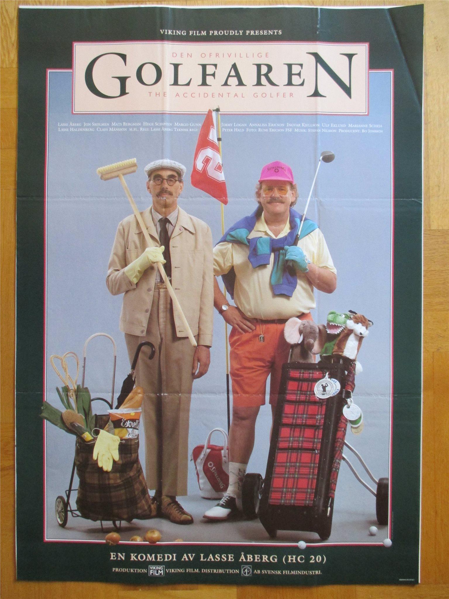 Costner iskall golfare
