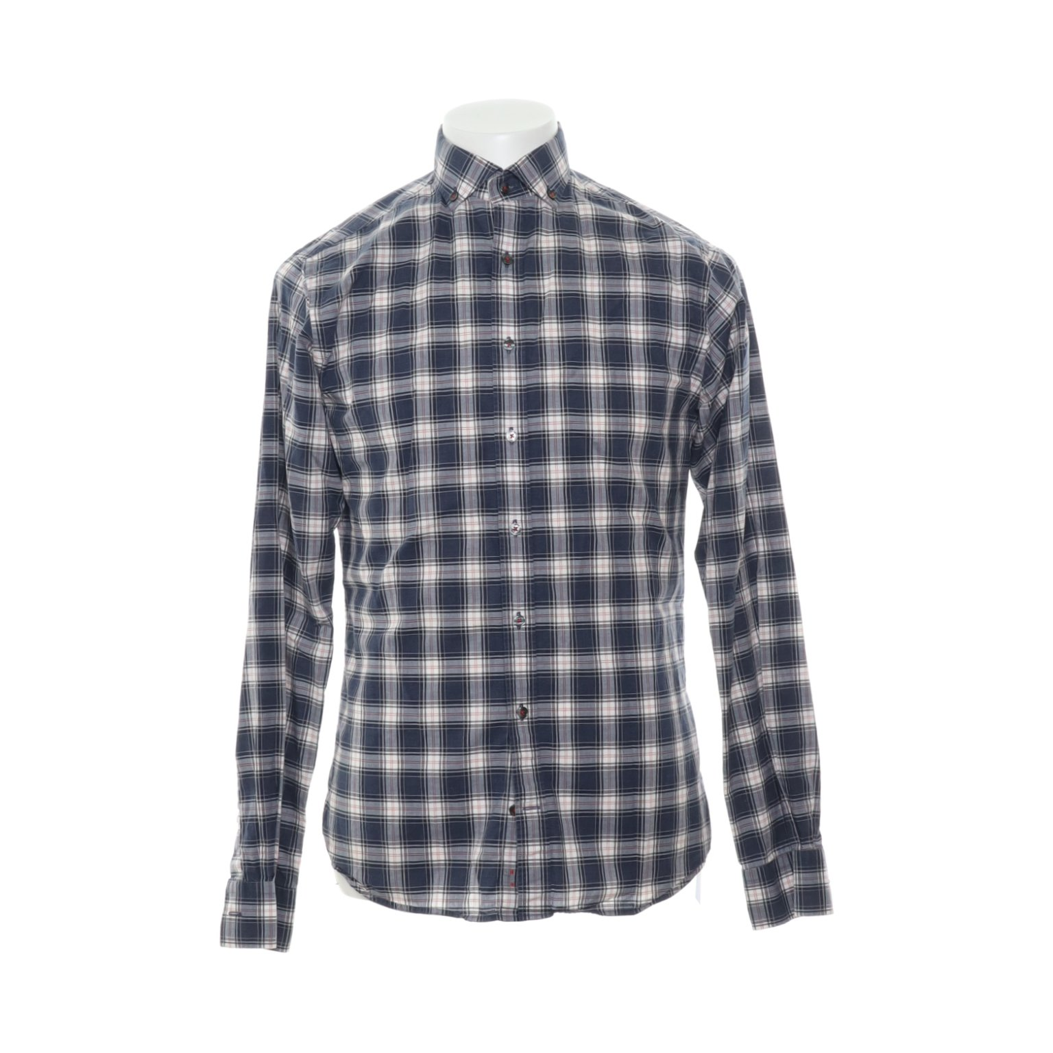 The shirt factory design Linnéa Braun, Skjorta, Strl: 39, Extra Slim Fit