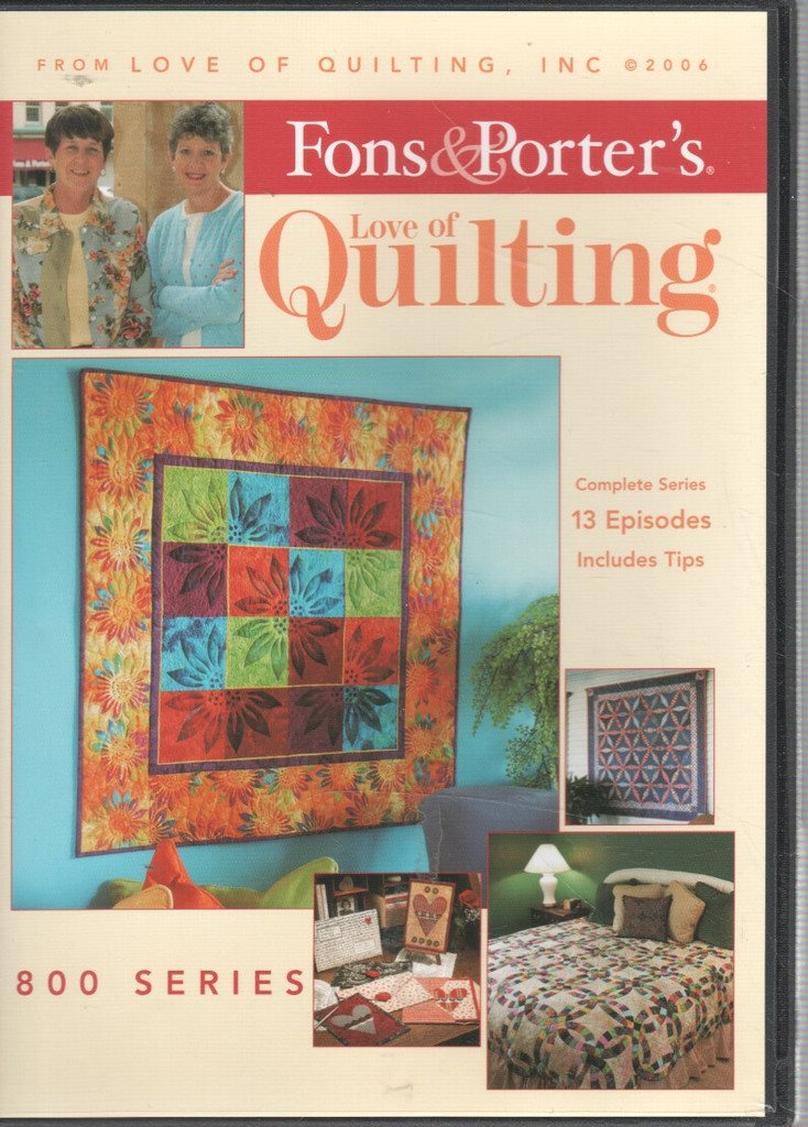 Fons & Porter's Love of Quilting 800 series DVD