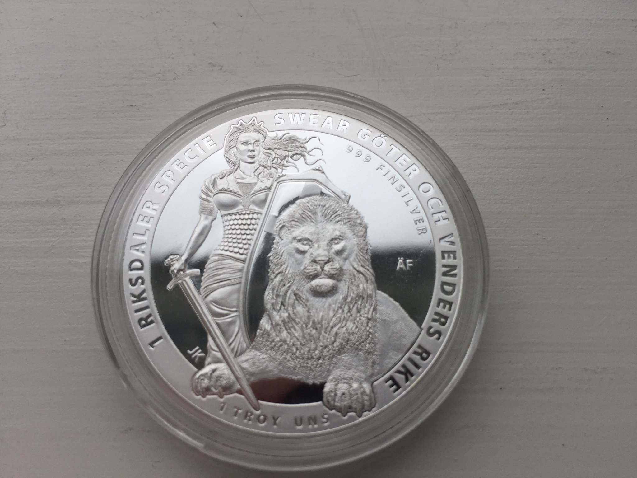 1 oz Sala Silvergruva Helvetic Mint Limited edition