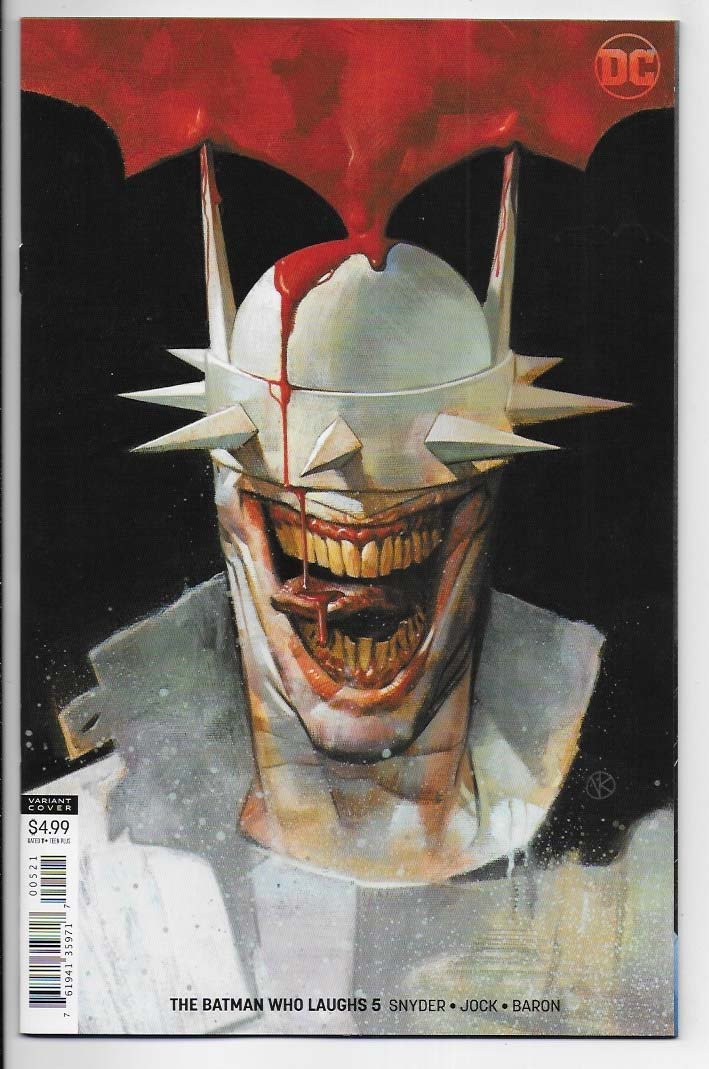Batman: Who Laughs # 5 Variant Cover NM Ny Import