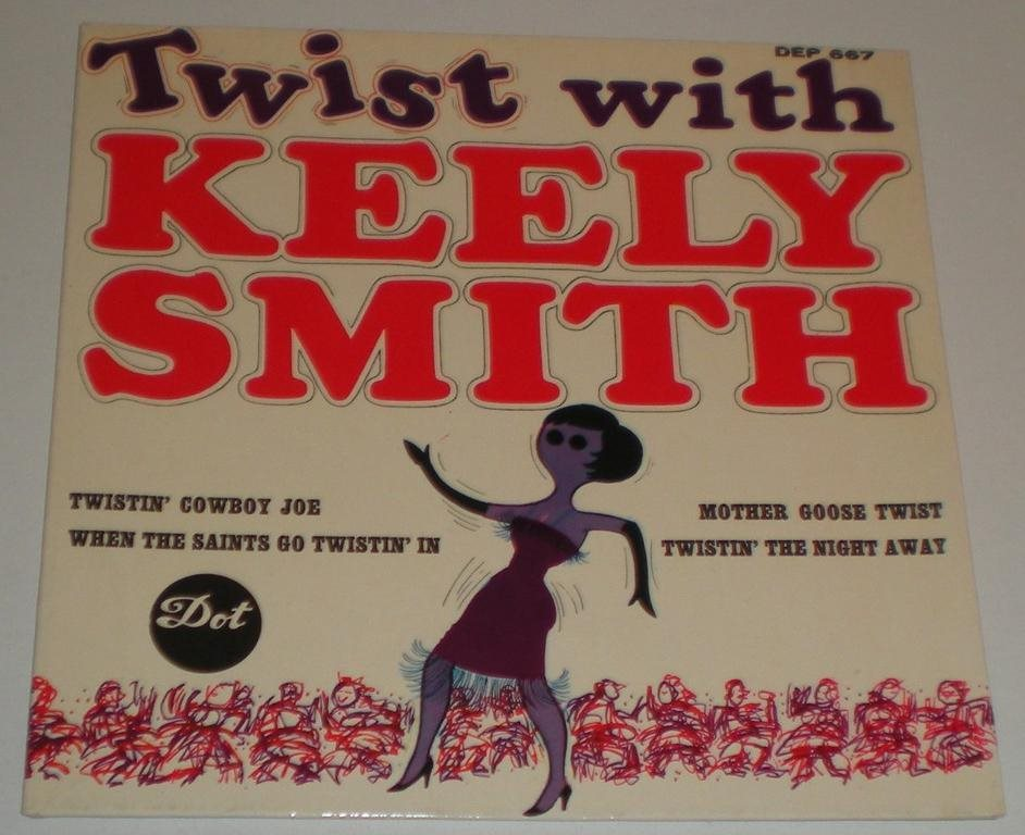 Keely Smith OMSLAG EP Twist with 1963 VG++