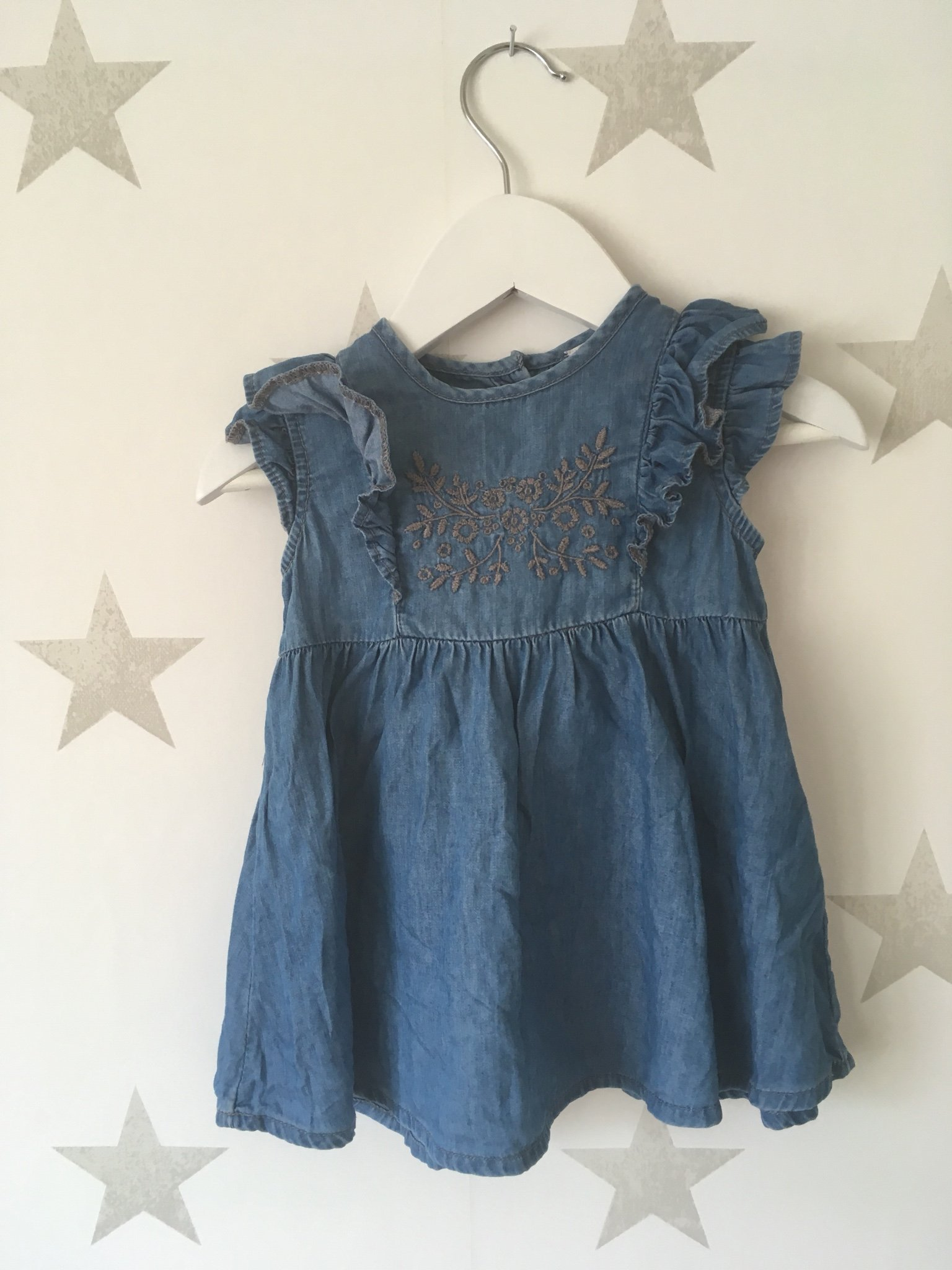 41b284e6f9ed Fin jeans klänning från Lindex stl 68 (346606410) ᐈ Köp på Tradera